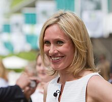Piers Morgan & Sophie Raworth at RHS Chelsea Flower Show by Keith Larby