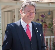 Alan Titchmarsh at RHS Chelsea Flower Show by Keith Larby