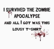 Zombie Shirt by MisfitCustoms