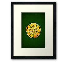 House Tyrell Minimalist Framed Print