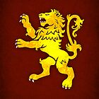 House Lannister  Minimalist by Digital Phoenix Design
