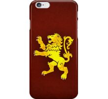 House Lannister  Minimalist iPhone Case/Skin