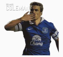 Seamus Coleman Shirt by Edwards1878