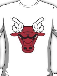 Bulls Hands Horns T-Shirt