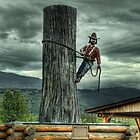 Upper Skeena Logger by Dyle Warren