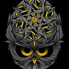 The Wise Owl by GODZILLARGE