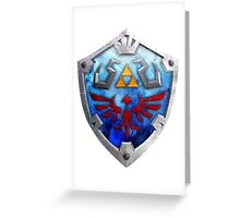 The Hylian Shield Greeting Card