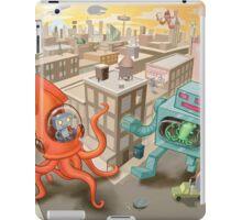 Robot vs. Squid iPad Case/Skin
