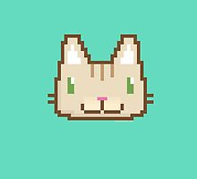 Pixel Kitty by nate-bear