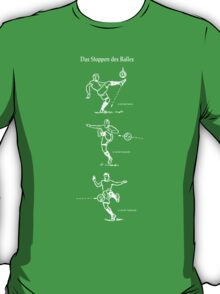 Stoppen des Balls Stopping the Ball long T-Shirt