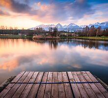 Štrbský rybník by Zoltán Duray