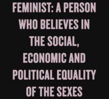 feminist by girlpower