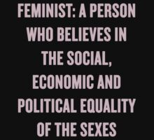 feminist by girlpower