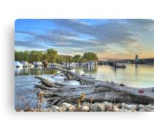 Mississippi Harbor 2 Canvas Print