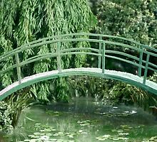 Miniature Replica of Monet's Water Lily Pond by Katie Batchelor