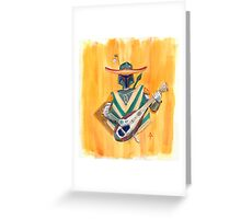 Boba Bandito! Greeting Card