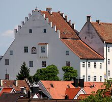 Schlossmuseum Murnau Pillow by SmoothBreeze7
