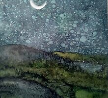 Starry Night by Linda Ginn Art