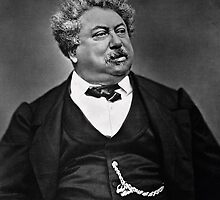 Alexandre Dumas pere by Bridgeman Art Library