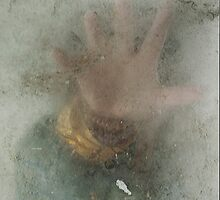 Hand Reaching Through Murky Mist by Kim-maree Clark