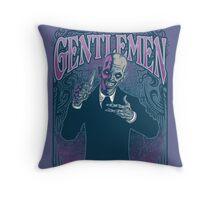 Gentlemen Throw Pillow
