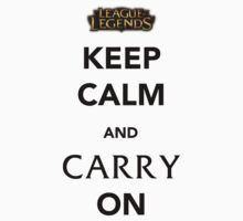 Keep Calm and Carry On ver 2 by NotReally