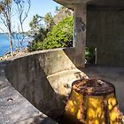 Gun emplacements West Head NSW by Doug Cliff