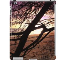 Early morning beach walks are filled with treasures iPad Case/Skin