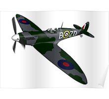 Spitfire Mk I Poster