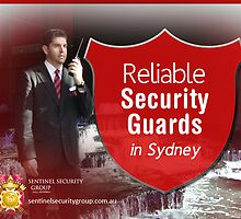 Reliable Security Guards in Sydney by sentinelsecure