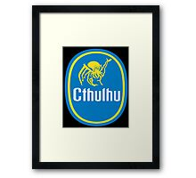 Cthulhu gone Bananas! Framed Print