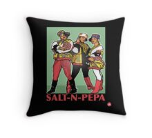 THE SHOWSTOPPERS: SALT-N-PEPA Throw Pillow