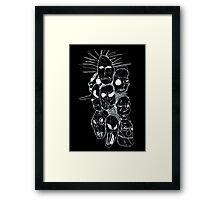 Slipknot Continuous Line Framed Print