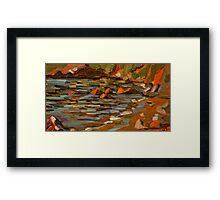 Early morning at Oyster Cove Framed Print