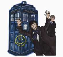 Wholock, Sherlock and Doctor Who design. by Mollie Gunning