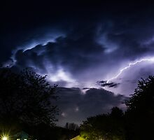 Neighborhood Storm by Tyler Stierhoff