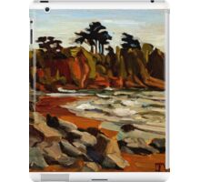 A Tramp Along the English Riviera. iPad Case/Skin