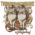 Tweedledum & Tweedledee Carnivale Style - Gold Version by Sally McLean