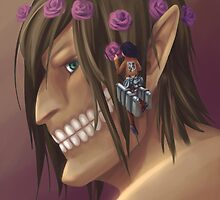 Attack on Titan: Flower Crown for the Titan by Courtney Frahm