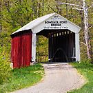 Bowsher Ford Covered Bridge by Kenneth Keifer