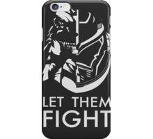 Let Them Fight! Gypsy Danger v Godzilla iPhone Case/Skin