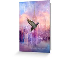 Lights Will Guide You Home (City Lights Series) Greeting Card