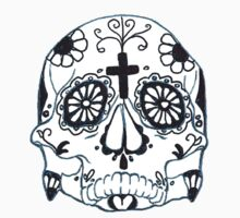 First Mexican Sugar Skull by luckylucy