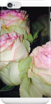 Rose phone case by ArtxAlly