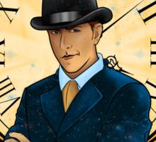 Inspector Spacetime Nouveau (II) Sticker