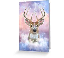 Dream By Day (Rain-deer Dreams) Greeting Card