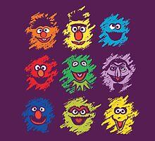 Every colors on Sesame by Budi Satria Kwan