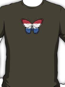 Dutch Flag Butterfly T-Shirt