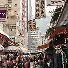 Hong Kong  - Wanchai market by Cvail73
