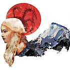 With Fire and Blood by Courtney Crawford